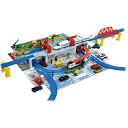 プラレール ひろげて立体!トミカとプラレールの街マップおもちゃ こども 子供 男の子 ミニカー 車 くるま 3歳