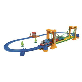 プラレール きかんしゃトーマス ぐらぐらつり橋セットおもちゃ こども 子供 男の子 電車 3歳