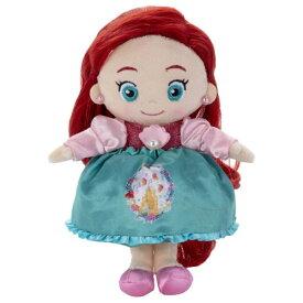 ディズニーキャラクター マイフレンドプリンセス ヘアメイクプラッシュドール キラキラドレスアップ / アリエルおもちゃ こども 子供 女の子 人形遊び 3歳 リトルマーメイド(アリエル)