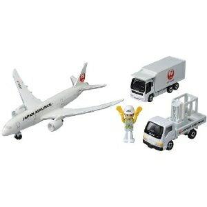 トミカ 787エアポートセット(JAL)