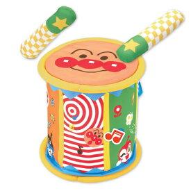 ベビラボ アンパンマン やわらかメロディ ドラム おもちゃ こども 子供 知育 勉強 0歳8ヶ月