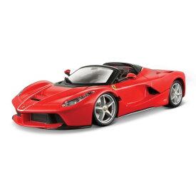 トミカプレゼンツ ブラーゴ シグネチャーシリーズ 1:43 ラフェラーリ アペルタ(赤)おもちゃ こども 子供 男の子 ミニカー 車 くるま 14歳