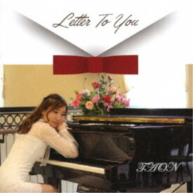 TAON/Letter To You 【CD】