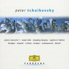 (クラシック)/チャイコフスキー:ピアノ協奏曲第1番/ヴァイオリン協奏曲/白鳥の湖/眠りの森の美女/1812年、他 【CD】