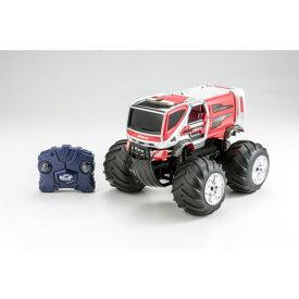 Wドライブプラス モリタ 林野火災用消防車コンセプトカーおもちゃ こども 子供 ラジコン 6歳
