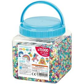 パーラービーズ 80-17556 筒入り11000P ドリームカラーおもちゃ こども 子供 女の子 ままごと ごっこ 作る 5歳