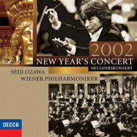 小澤征爾/ウィーン・フィル/ニューイヤー・コンサート2002(初回限定) 【CD】