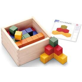 ずけいキューブつみき おもちゃ こども 子供 知育 勉強 3歳