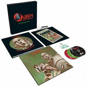【送料無料】クイーン/『世界に捧ぐ』 40周年記念スーパー・デラックス・エディション《完全生産限定盤》 (初回限定) 【CD+DVD】