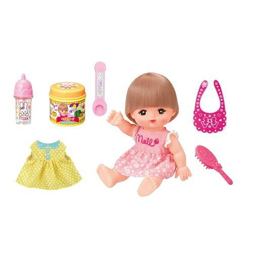 メルちゃん おしょくじ&おせわセット(人形付きセット) おもちゃ こども 子供 女の子 人形遊び クリスマス プレゼント 8歳