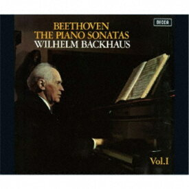 【送料無料】ヴィルヘルム・バックハウス/ベートーヴェン:ピアノ・ソナタ全集Vol.1《生産限定盤》 (初回限定) 【CD】