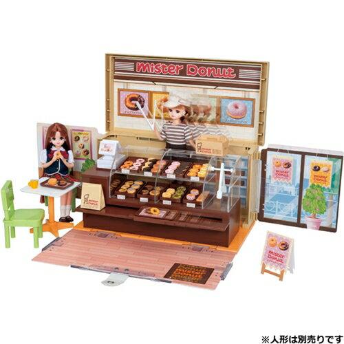 【送料無料】リカちゃん ドーナツいっぱい ミスタードーナツショップ