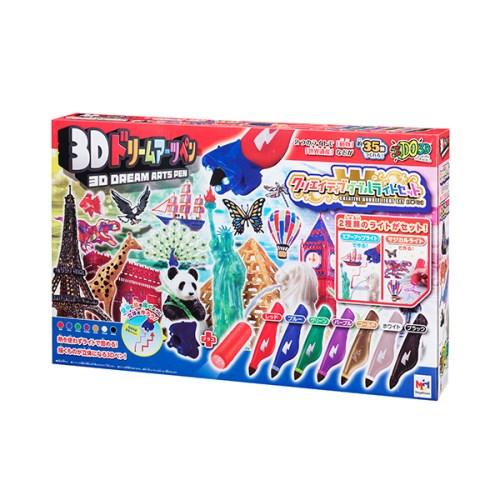 3Dドリームアーツペン クリエイティブダブルライトセット 7本ペン