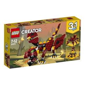 LEGO 31073 クリエイター 伝説の生き物 おもちゃ こども 子供 レゴ ブロック 7歳