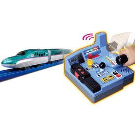 プラレール 乗車確認!出発進行!まるごと鉄道体験!E5系はやぶさコントロールセット おもちゃ こども 子供 男の子 電車 3歳