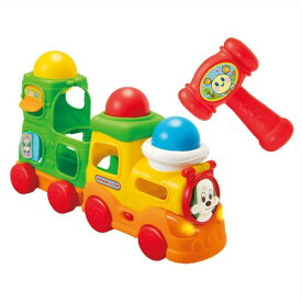 【送料無料】いないいないばあっ! ボールをポン!ワンワンのおしゃべりトレイン おもちゃ こども 子供 知育 勉強 1歳6ヶ月