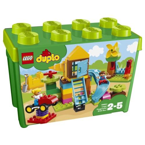 【送料無料】LEGO 10864 デュプロ みどりのコンテナスーパーデラックス おおきなこうえん