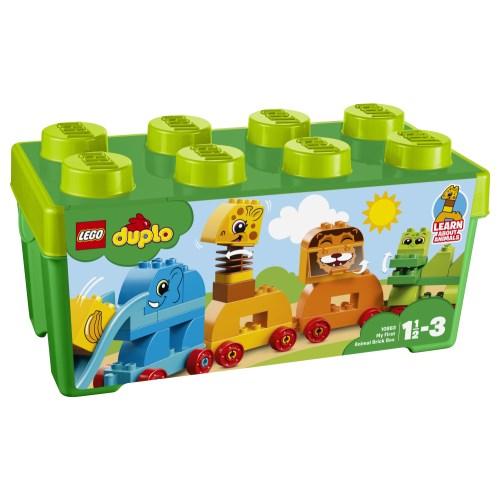LEGO 10863 デュプロ みどりのコンテナデラックス どうぶつでんしゃ
