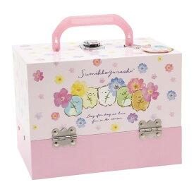 すみっコぐらし バニティメイクボックス ピンクおもちゃ こども 子供 女の子 メイク セット 6歳