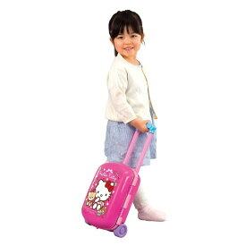 【送料無料】ハローキティ キッチンにへんしん!キャリーケース おもちゃ こども 子供 女の子 ままごと ごっこ