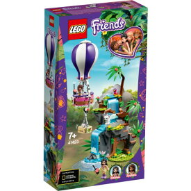 LEGO レゴ フレンズ ホワイトタイガーの熱気球ジャングルレスキュー 41423おもちゃ こども 子供 レゴ ブロック 7歳
