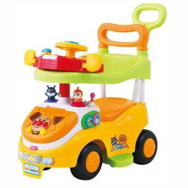 アンパンマン よくばりビジーカーDXFUN(デラックスファン) 押し棒+ガード付きおもちゃ こども 子供 知育 勉強