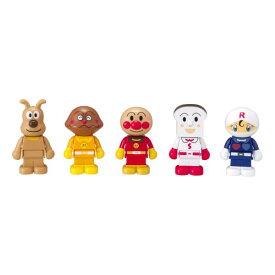 ブロックラボ ブロックといっしょに遊べる! アンパンマンとなかまたちブロックドールセット おもちゃ こども 子供 知育 勉強 3歳