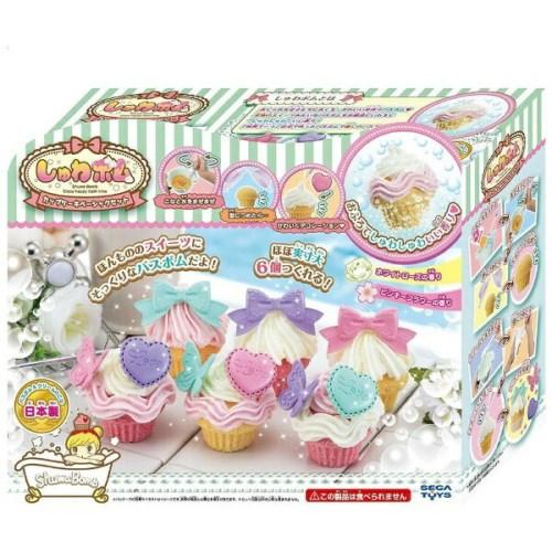 SB-01 しゅわボム カップケーキベーシックセット おもちゃ こども 子供 女の子 ままごと ごっこ 作る 6歳