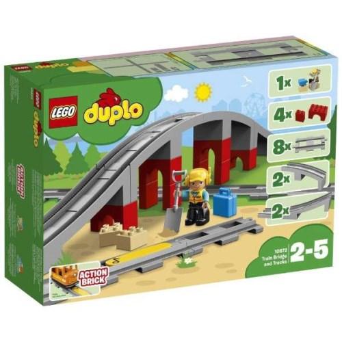 LEGO デュプロ 10872 あそびが広がる!鉄道橋とレールセット