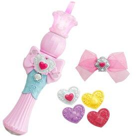 トロピカル〜ジュ!プリキュア ハートルージュロッドおもちゃ こども 子供 女の子 3歳