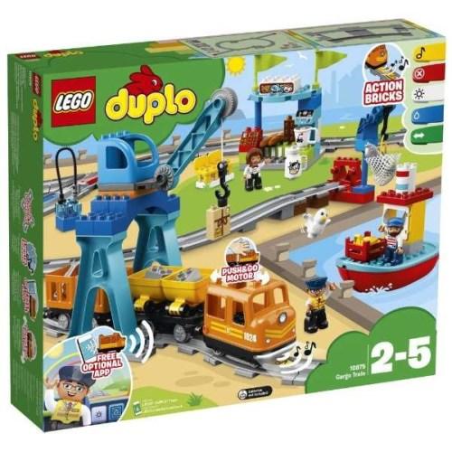 【送料無料】LEGO デュプロ 10875 キミが車掌さん!おしてGO機関車スーパーデラックス