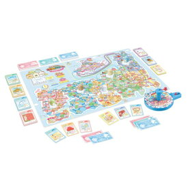 すみっコぐらし 日本旅行ゲーム おへやのすみでたびきぶんおもちゃ こども 子供 パーティ ゲーム 5歳