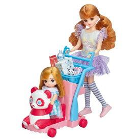 リカちゃん おかいものパンダカートおもちゃ こども 子供 女の子 人形遊び 小物 3歳