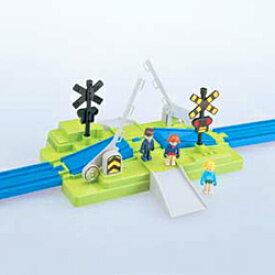 プラレール プラキッズ J-27 ふみきりセット おもちゃ こども 子供 男の子 電車 3歳