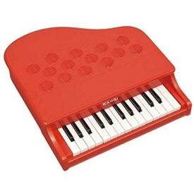 KAWAI ミニピアノP-25 ポピーレッドおもちゃ こども 子供 知育 勉強