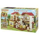 【送料無料】シルバニアファミリー ハ-48 赤い屋根の大きなお家 おもちゃ こども 子供 女の子 人形遊び 3歳