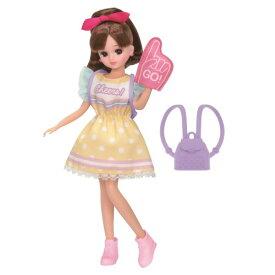 リカちゃん LW-13 キューティチアリーダーおもちゃ こども 子供 女の子 人形遊び 洋服 3歳