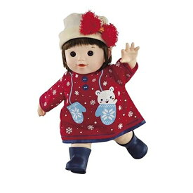 ぽぽちゃん 数量限定 やわらかお肌の女の子だもんぽぽちゃんふわふわリボンの帽子 おもちゃ こども 子供 女の子 人形遊び 3歳