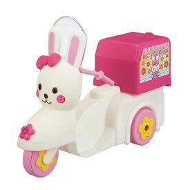 メルちゃん おうちへおとどけ!うさぎさんバイク おもちゃ こども 子供 女の子 人形遊び 小物 3歳