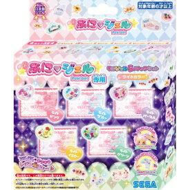 PGR5-01 ぷにジェル専用ラメジェル5パックセット ライトカラーおもちゃ こども 子供 女の子 ままごと ごっこ 作る 6歳