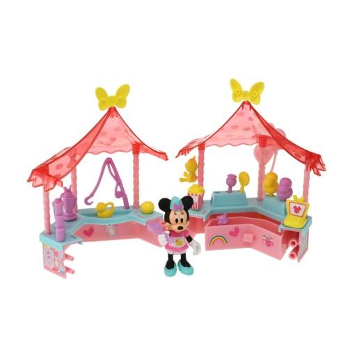 ミニーのハッピー・ヘルパー ミニーにおまかせ! にぎやかショップ おもちゃ こども 子供 女の子 人形遊び クリスマス プレゼント 3歳 ミニーマウス