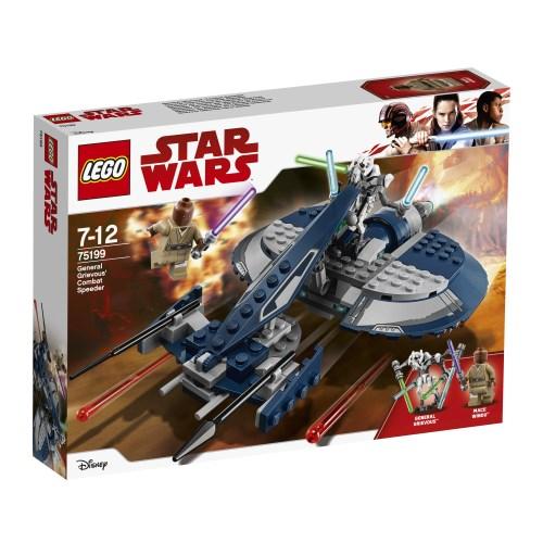 【送料無料】LEGO 75199 スター・ウォーズ グリーヴァス将軍のコンバット・スピーダー おもちゃ こども 子供 レゴ ブロック 7歳