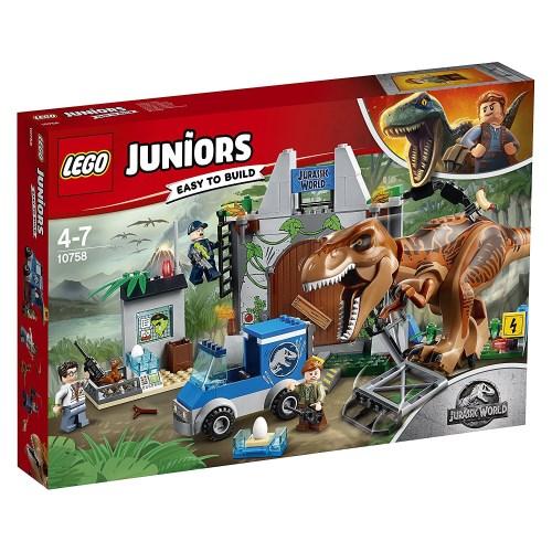 【送料無料】LEGO 10758 ジュニア T-レックスの脱走