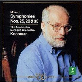 モーツァルト/モーツァルト:交響曲第25・29・33番 【CD】