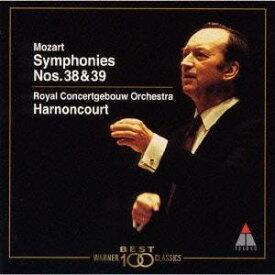 モーツァルト/モーツァルト:交響曲第38番・第39番 【CD】