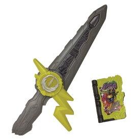 仮面ライダーセイバー ミニ雷鳴剣黄雷おもちゃ こども 子供 男の子 3歳