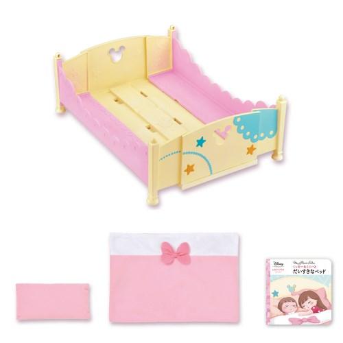 【送料無料】ずっとぎゅっと レミン&ソラン ミッキー&ミニー おおきなベッド&ふとんセット