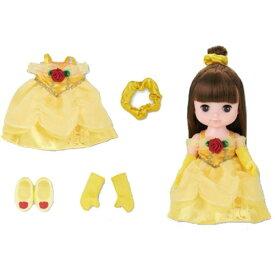 ずっとぎゅっと レミン&ソラン ベル ドレスセット おもちゃ こども 子供 女の子 人形遊び 洋服 3歳 美女と野獣(ベル)