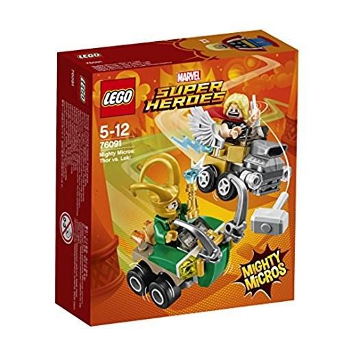 LEGO 76091 スーパー・ヒーローズ マイティマイクロ:ソー vs. ロキ