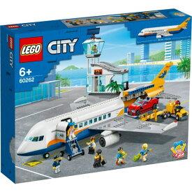 LEGO レゴ シティ パッセンジャー エアプレイン 60262おもちゃ こども 子供 レゴ ブロック 6歳
